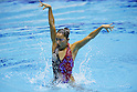 Yumi Adachi (JPN), MAY 4, 2012 - Synchronized Swimming : Yumi Adachi of Japan performs during the Japan Synchronised Swimming Championships Open 2012, solo free routine at Tatumi International pool in Tokyo, Japan. (Photo by Yusuke Nakanishi/AFLO SPORT) [1090]