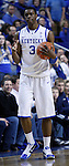 Terrence Jones, freshman forward, reacts in the first half of the game against the University of Tennessee at Rupp Arena on Tuesday, February 8, 2011.  Photo by Latara Appleby | Staff