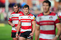 Darren Dawidiuk of Gloucester Rugby looks on after the match. Aviva Premiership match, between Gloucester Rugby and Bath Rugby on October 1, 2016 at Kingsholm Stadium in Gloucester, England. Photo by: Patrick Khachfe / Onside Images