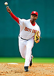 9 March 2010: Washington Nationals' pitcher Miguel Batista on the mound during a Spring Training game against the Detroit Tigers at Space Coast Stadium in Viera, Florida. The Tigers defeated the Nationals 9-4 in Grapefruit League action. Mandatory Credit: Ed Wolfstein Photo