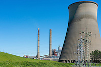 A power plant for the production of electricity