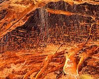 Butler Wash Petroglyphs, San Juan River, Utah