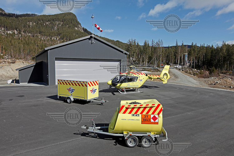 Norwegian Air Ambulance mobile units.