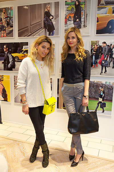 Agne Motiejunaite from Made in Chelsea and Leila Kashanipour