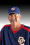 25 February 2007: Washington Nationals coach Tim Foli poses for his Photo Day portrait at Space Coast Stadium in Viera, Florida.<br /> <br /> Mandatory Photo Credit: Ed Wolfstein Photo<br /> <br /> Note: This image is available in a RAW (NEF) File Format - contact Photographer.