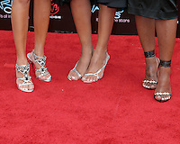 3LW .Adrienne Bailon, Kiely Williams, Jessica Benson.BET Awards 2006.Shrine Auditorium.Los Angeles, CA.January 27, 2006.©2006 Kathy Hutchins / Hutchins Photo....