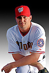 25 February 2007: Washington Nationals pitcher Bill White poses for his Photo Day portrait at Space Coast Stadium in Viera, Florida.<br /> <br /> Mandatory Photo Credit: Ed Wolfstein Photo<br /> <br /> Note: This image is available in a RAW (NEF) File Format - contact Photographer.