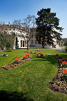 The Parc des Bastions, originally the first botanical garden in Geneva (Switzerland, 16/04/2010)