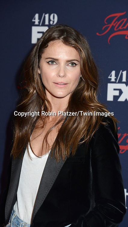 Keri Russell attends FX's 2017 All-Star Upfront on  April 6, 2017 at SVA Theater in New York, New York, USA. <br /> <br /> photo by Robin Platzer/Twin Images<br />  <br /> phone number 212-935-0770