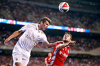 Chicago, IL - Wednesday July 27, 2016:  Bayern Munich play AC Milan in the 2016 International Champions Cup, played at Soldier Field.