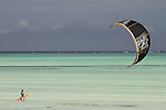 EXTREME SPORT KITE KITESURFING | PAJE ZANZIBAR TANZANIA AFRICA <br />