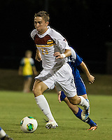 Winthrop University Eagles vs the Brevard College Tornados at Eagle's Field in Rock Hill, SC.  The Eagles beat the Tornados 6-0.  James Skonicki (23)