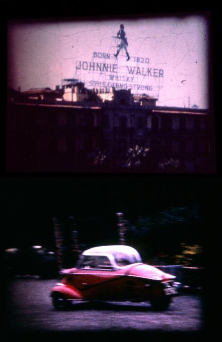 Johnnie Walker with Messerschmitt