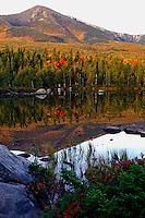 Autumn view Mt. Katahdin  #L10