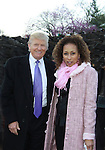 As The World Turns Tamara Tunie and Donald Trump at the 2012 Skating with the Stars - a benefit gala for Figure Skating in Harlem celebrating 15 years on April 2, 2012 at Central Park's Wollman Rink, New York City, New York.  (Photo by Sue Coflin/Max Photos)