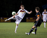 The Winthrop University Eagles lose 2-1 in a Big South contest against the Campbell University Camels.  Magnus Thorsson (8), Scooter Oliver (7)