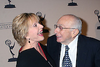 Florence Henderson & Sherwood Schwartz arriving at the Television Academy Hall of Fame Ceremony in Beverly Hills, CA .December 9, 2008.©2008 Kathy Hutchins / Hutchins Photo....                .