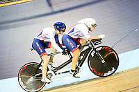 Picture by Simon Wilkinson/SWpix.com - 04/03/2017 - Cycling 2017 UCI Para-Cycling Track World Championships, Velosports Centre, Los Angeles USA -