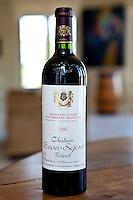Fine wine Chateau Beau-Sejour Becot 1990 vintage Grand Cru Classe Saint Emilion Grand Cru in Bordeaux wine region, France