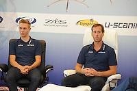 SCHAATSEN: WOLVEGA: 22-09-2014, Team Stressless, Rutger Tijssen (trainer/coach), Bart Swings (BEL), ©foto Martin de Jong