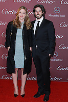 PALM SPRINGS, CA, USA - JANUARY 03: Helen Estabrook, Jason Reitman arrive at the 26th Annual Palm Springs International Film Festival Awards Gala Presented By Cartier held at the Palm Springs Convention Center on January 3, 2015 in Palm Springs, California, United States. (Photo by David Acosta/Celebrity Monitor)