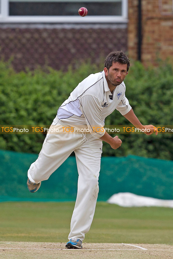 Sean McMurray in action for Chingford CC- Chingford CC vs Orsett CC - Essex Cricket League at Forest Side - 02/06/12 - MANDATORY CREDIT: Ray Lawrence/TGSPHOTO - Self billing applies where appropriate - 0845 094 6026 - contact@tgsphoto.co.uk - NO UNPAID USE.