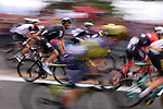 The start of Stage 6 of the 100th edition of the Giro d'Italia 2017, running 217km from Reggio Calabria to Terme Luigiane, Italy. 11th May 2017.<br /> Picture: LaPresse/Gian Mattia D'Alberto   Cyclefile<br /> <br /> <br /> All photos usage must carry mandatory copyright credit (&copy; Cyclefile   LaPresse/Gian Mattia D'Alberto)