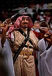 King Salman  and late King Abdullah of Saudi Arabia
