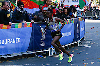 Ghirmay Ghebreslassie of Eritrea  wins 2016 annual New York City Marathon