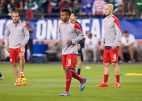 Glendale, AZ. - Wednesday, April 2, 2014: The US Men's National team and the National team of Mexico played to a 2-2 draw during an International friendly match at University of Phoenix Stadium.