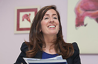 ***NO FEE PIC ***<br /> 11/06/2014<br />  Maeve Regan Managing Solicitor MLRC during The Mercy Law Resource Centre's Annual Report for 2013 at Sophia Housing on Cork Street, Dublin.<br /> Photo:  Gareth Chaney Collins