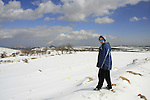 Snow in Gush Etzion
