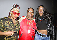"LOS ANGELES,CA - OCTOBER 16: Rapper Da Brat, LT Hutton and Babs Bunny attend the ""Queen of The Ring"" Rap Battle at Ben Kitay Studios in Los Angeles, California on October 16, 2016. Credit: Koi Sojer/Snap'N U Photos/MediaPunch"
