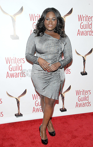 NEW YORK, NY - FEBRUARY 19: Danielle Brooks  attends the 69th Annual Writers Guild Awards New York ceremony at Edison Ballroom on February 19, 2017 in New York City. Photo by: John Palmer/ MediaPunch