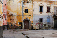"""Square and ruined buildings of the old city of the Portuguese Fortified city of Mazagan, El Jadida, Morocco. El Jadida, previously known as Mazagan (Portuguese: Mazag""""o), was seized in 1502 by the Portuguese, and they controlled this city until 1769.  Picture by Manuel Cohen"""