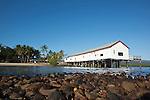 The historic Sugar Wharf building.  Port Douglas, Queensland, Australia