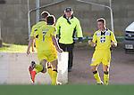 St Johnstone v St Mirren....04.10.14   SPFL<br /> Adam Drury celebrates his goal<br /> Picture by Graeme Hart.<br /> Copyright Perthshire Picture Agency<br /> Tel: 01738 623350  Mobile: 07990 594431