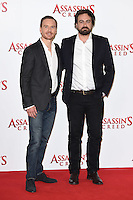 Michael Fassbender &amp; director Justin Kurzel at the &quot;Assassin's Creed&quot; photocall at Claridges Hotel, London. December 8, 2016<br /> Picture: Steve Vas/Featureflash/SilverHub 0208 004 5359/ 07711 972644 Editors@silverhubmedia.com