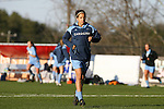 20 March 2009: UNC's Casey Nogueira. The WPS's Sky Blue FC played the University of North Carolina Tar Heels in a preseason game at Macpherson Stadium in Brown's Summit, North Carolina.
