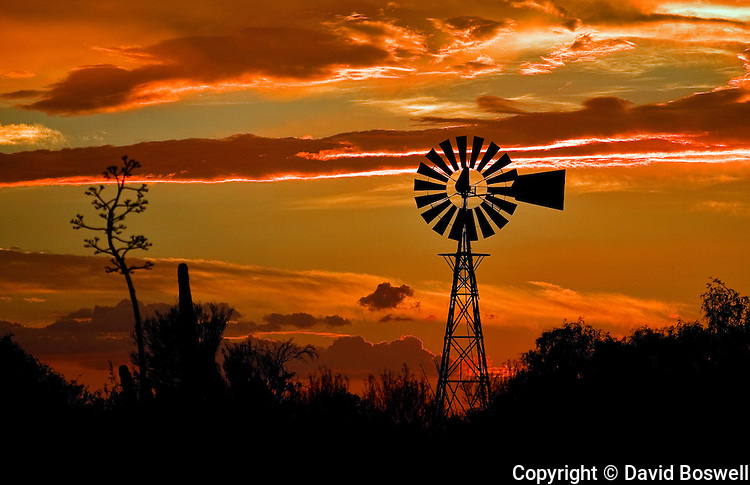 Windmill at Sunset 2 | DBoswell Photography