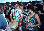 conga drummer in Golden Gate Park