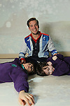 Official opening of the sensory room at  Crug Glas School in Swansea sponsored by BT and the Lord Taverners...Welsh Paralympian Nathan Stephens who opened the sensory room with pupils Sean Harries and Catrin Couch..05.12.12..©Steve Pope