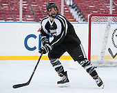 Brandon Tanev (PC - 22) -  - The participating teams in Hockey East's first doubleheader during Frozen Fenway practiced on January 3, 2014 at Fenway Park in Boston, Massachusetts.