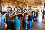 The Maryhill Winery in Washington State features stunning views of the Columbia River, the Eastern Gorge and Mount Hood. Inside the tasting room