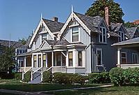 Evanston: Willard House, 1865. Photo '77.