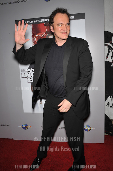 "Quentin Tarantino at the DVD launch of his movie ""Inglourious Basterds"" at the New Beverly Cinema, Los Angeles..December 14, 2009  Los Angeles, CA.Picture: Paul Smith / Featureflash"
