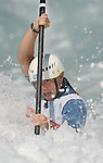 8/18/04 --Al Diaz/Miami Herald/KRT--Athens, Greece--Women's K1 Kayak Single Racing at the Olympic Canoe/Kayak Centre during the Athens 2004 Olympic Games. The winner of the silver medal Rebecca Giddens with a time of 214.62