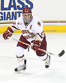 Brian Gibbons (BC - 17) - The Boston College Eagles defeated the visiting University of Maine Black Bears 4-0 on Friday, November 19, 2010, at Conte Forum in Chestnut Hill, Massachusetts.