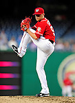 23 September 2010: Washington Nationals pitcher Drew Storen on the mound against the Houston Astros at Nationals Park in Washington, DC. The Nationals defeated the Astros 7-2 for their third consecutive win, taking the series three games to one. Mandatory Credit: Ed Wolfstein Photo