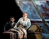 La Boheme <br /> by Puccini <br /> English Touring Opera at the Hackney Empire, London, Great Britain <br /> rehearsal <br /> 11th March 2015 <br /> <br /> David Butt Philip as Rodolfo <br /> <br /> Ilona Domnich as Mimi <br /> <br /> <br /> <br /> <br /> <br /> <br /> Photograph by Elliott Franks <br /> Image licensed to Elliott Franks Photography Services